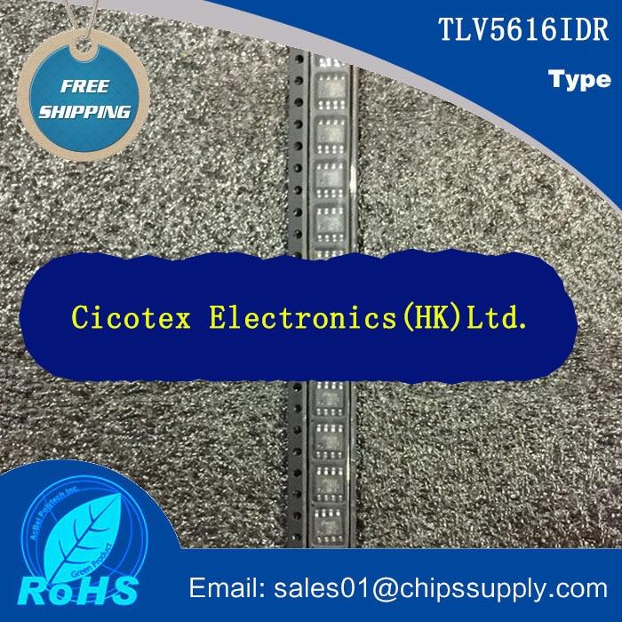 [Electronics Accessories] TLV5616IDR IC 12-BIT SERIAL DAC 8-SOIC