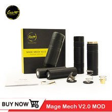 Original Coilart Mage Mech V2.0 Mod Electronic Cigarette Vape Mod 510 Thread 18650 Battery Mage mech V2.0 Stacked Edition Mods(China)