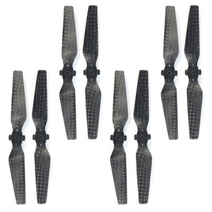 Image 3 - 1pack of 4pairs 4730F Carbon Fiber Quick Release Foldable Propellers for DJI Spark Drone Accessory CW + CCW CF Props