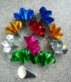 10 Spring Flowers from Fingertips (1set=10pcs flowers), Free shipping Whosale,magic tricks,fire,props,comedy,Ring