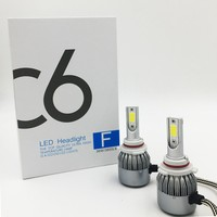 FREE SHIPPING CHEAPEST C6 9006AUTO BULB KIT LIGHTS 72W 7600LM LED LAMP WITH