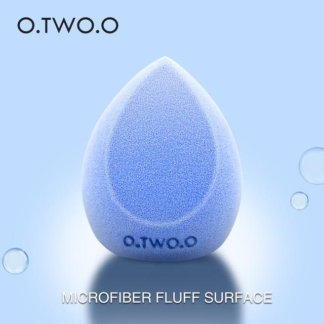 O.TWO.O Microfiber Fluff Surface Cosmetic Puff Velvet Makeup Sponge Powder Foundation Concealer Cream Make Up Tool 4