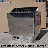 9 кВт нагреватель для сауны из нержавеющей стали 220 В парогенератор для сауны для домашнего использования печь для обогрева комнаты сухое об