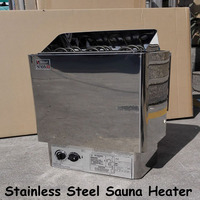 9KW Stainless Steel Sauna Heater 220V Sauna Steam Generator Home Use Heating Furnace Room Dry Equipment