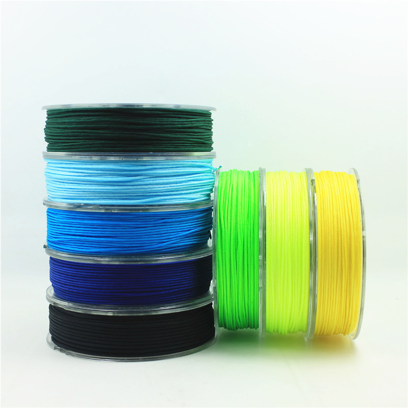 1mm Nylon Cord Thread Chinese Knot Macrame Cord Bracelet Braided String DIY Tassels Beading 25m roll 18 color in Jewelry Findings Components from Jewelry Accessories