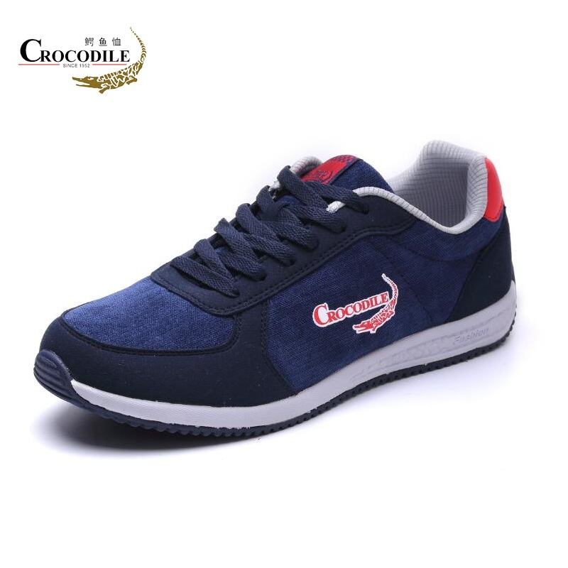 Crocodile Men Sneaker Shoes Male Athletic Sport Shoes Light Flat Vitality Footwear Jogging Shoes for Men