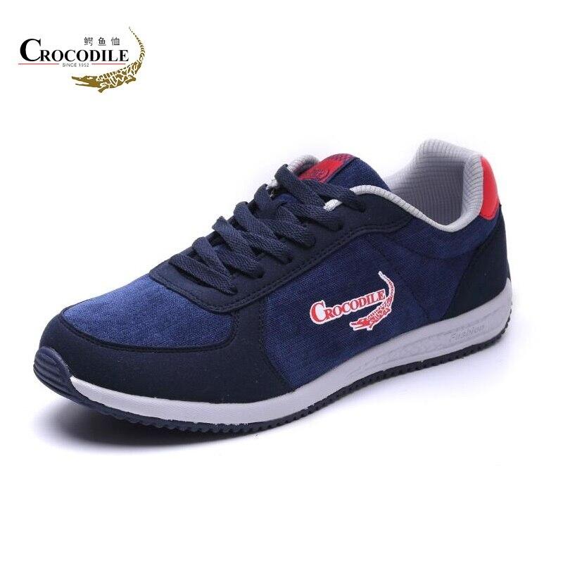 Chaussures de Sport homme Crocodile chaussures de Sport athlétique homme léger plat vitalité chaussures de Jogging pour Tennis homme Hombre