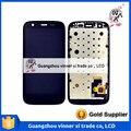 Black For Motorola Moto G XT1031 LCD+Lens Touch Screen Digitizer Assembly+Frame