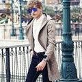 FanZhuan Frete Grátis dos homens Novos de Moda 2017 homem primavera casual masculino fino Casaco Longo zíper camuflagem populares 710032 Blusão