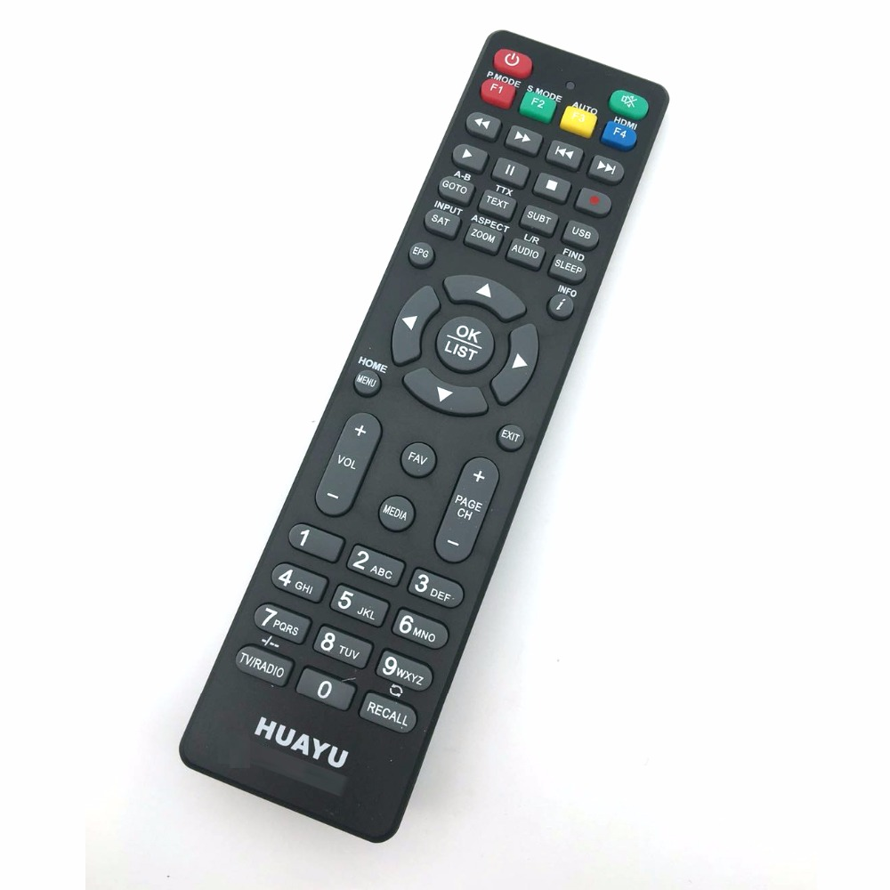 Universal SAT TV BOX remote control Satellite set top STV dvb-t2 for HD BOX500 MICROMAX STAR SAT SR-9100 ICONE YP-HD ESAT
