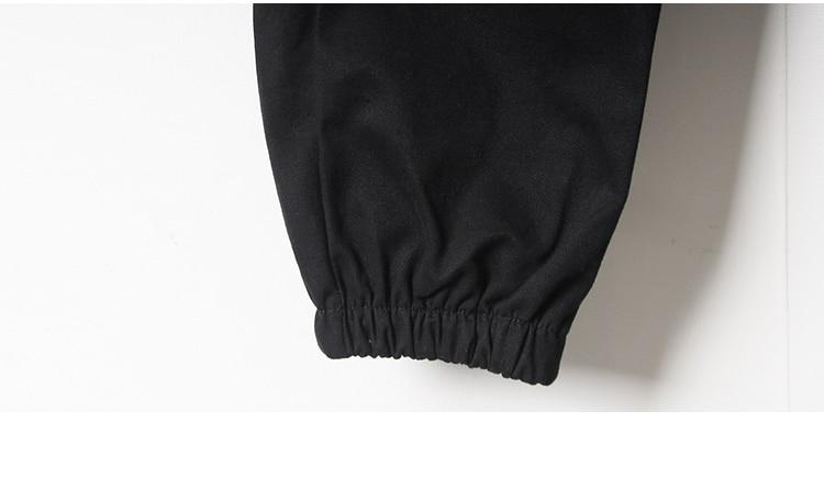 cintura alta solta bolsos calças das mulheres