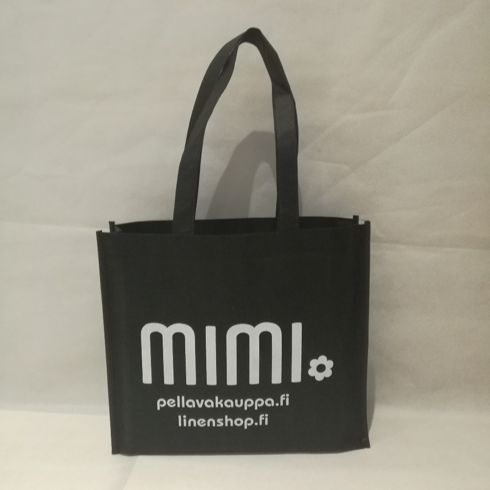 wholesale 500pcs lot 30Hx40x10cm recycled reusable PP non woven shopping bag with custom your company store