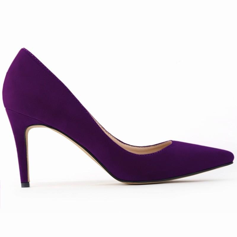 ألوان كبير أحذية الجلد 12