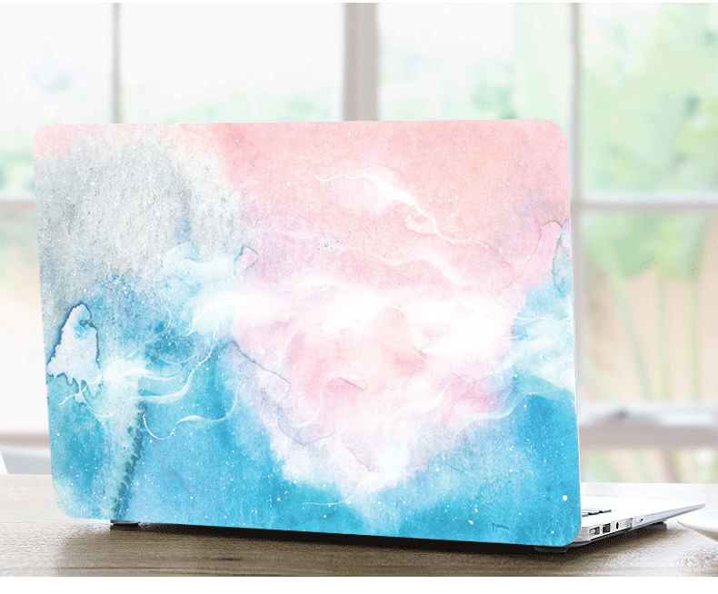 Marble Pattern Protective Matte Hard Shell Case Keyboard Cover Skin Set For 11 12 13 15