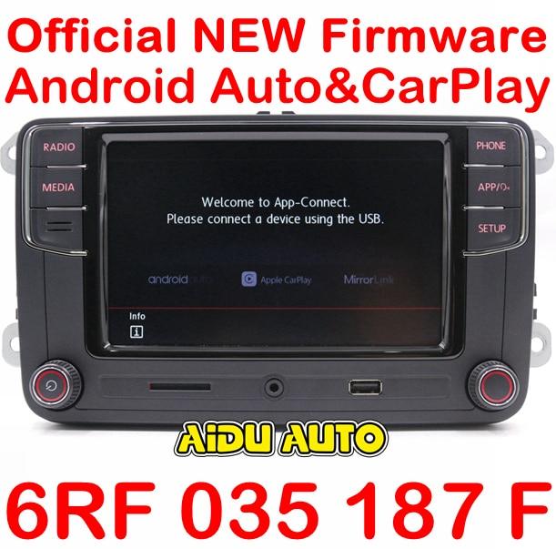 Carplay Android Auto R340G RCD330G Plus Radio For VW Tiguan Golf 5 6 MK5 MK6 Passat Polo 6RF 035 187 F/E