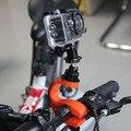 360 grau de rotação da bicicleta monte com adaptador de tripé e 1/4 parafuso para Gopro Hero 4 3 + 2 1 Xiaomi Yi SJCAM Sports Action Camera