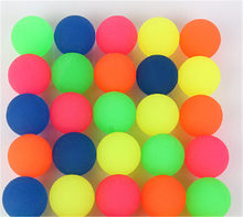 10pcs/lot 27mm Children Toy Ball Colored Boy Bouncing Ball Rubber Outdoor Toys Kids Sport Games Elastic Juggling Jumping Balls(China)