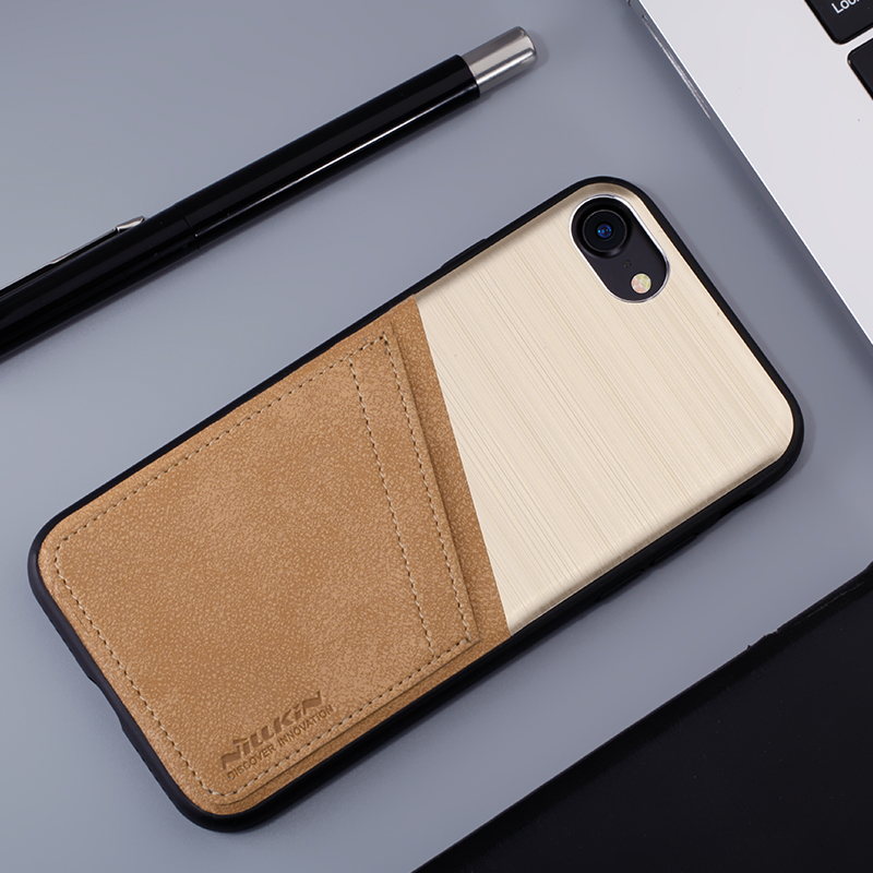 For iphone 7 7plus case 4.7 5.5 Nillkin Classy PU Leather card slot Plastic  cover for iphone 7 plus wallet capa case phone bags f28d85d7d