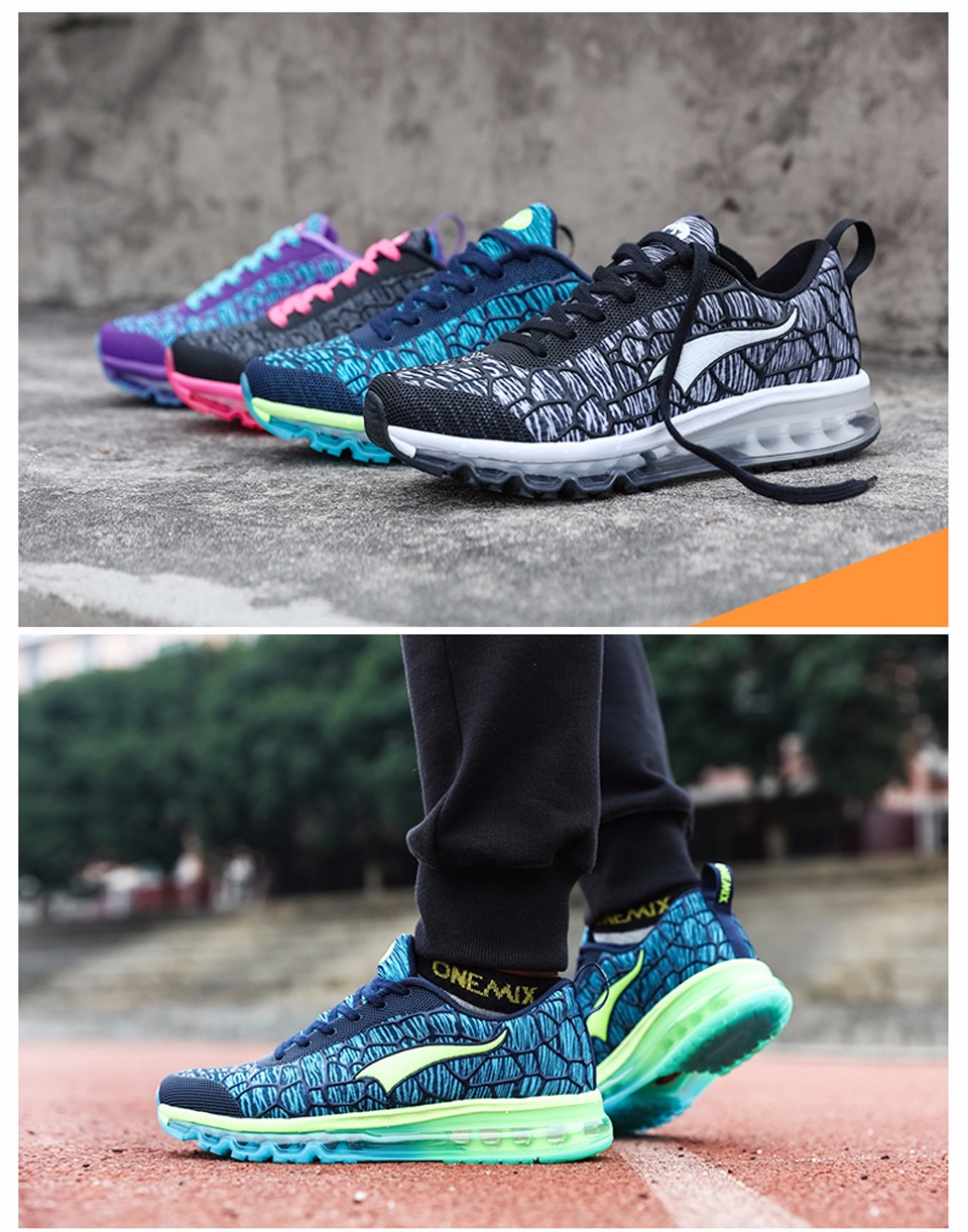 Onemix Brand 16 New Sports Running Shoes Sneakers for Men and Women Outdoor Walking and Running Breathable Good Quality 17