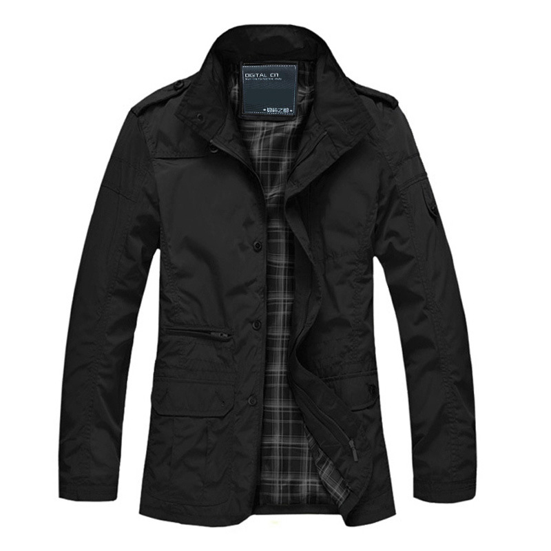 Windproof Thick Warm Jacket
