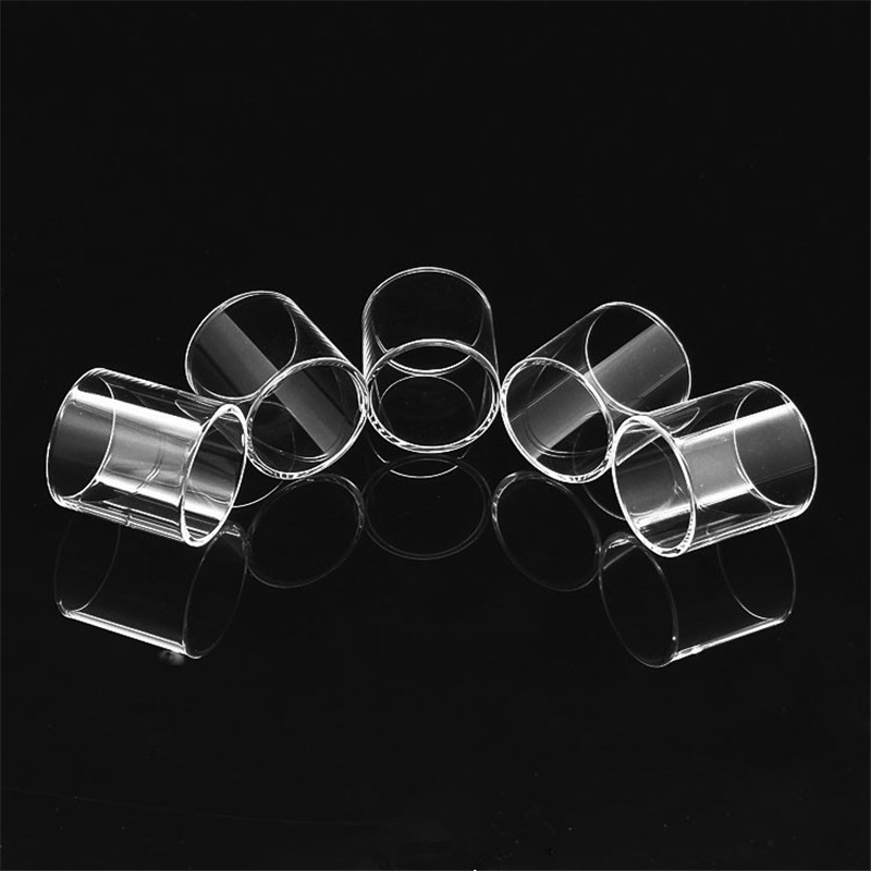 цена E-cigarette Glass Tube Replacement High Quality For Digiflavor Siren 2 II V2 MTL GTA 22mm/24mm Atomizer