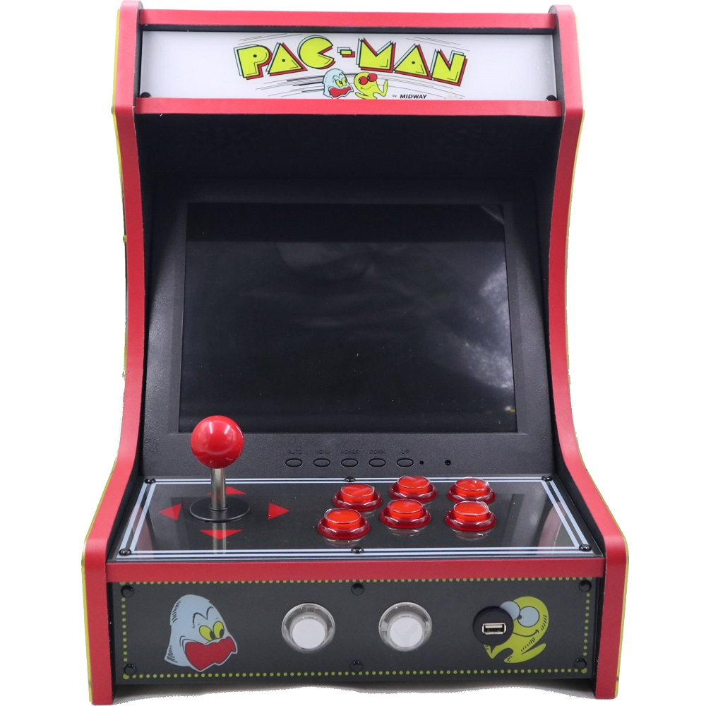 US $399 99  Mini Bartop Arcade Joystick Game Machine Cabinet Raspberry Pi  B+ Retro Game Console 128GB RAC B300-in Joysticks from Consumer Electronics