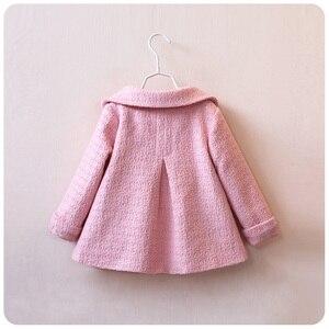 Image 4 - Nouvelle mode enfants manteau automne printemps bébé fille vêtements automne filles hauts enfants vêtements filles vestes