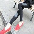 Women spring summer Thin Leggings Elastic High Waist Slim Stretch Trousers Female Leggins