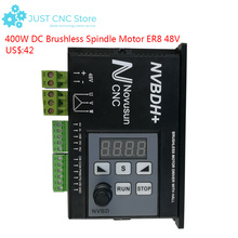 цена на NVBDH+ Brushless DC Motor Driver Controller 400W Digital display screen CNC milling machine Spindle engraving machine