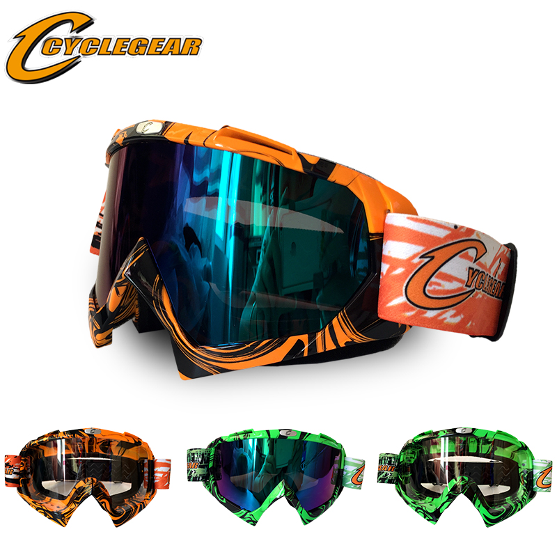 Hot Sales Motorcycle Sport Mask Skiing Glasses Motocross goggle cyclegear CG08