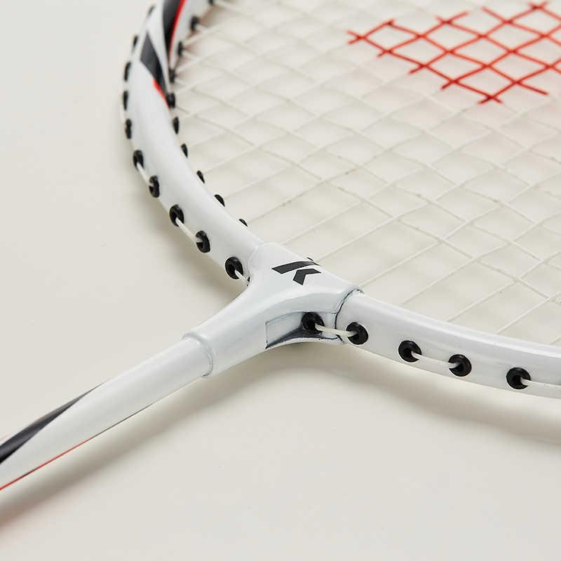 Kawasaki Badminton Racket 1U Aluminum Alloy Frame Badminton Racquet With String UP-0160 With Free Gift Shuttlecock