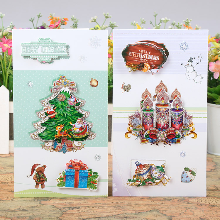 Free ship!1lot=24pc! New model nice Christmas message business ...