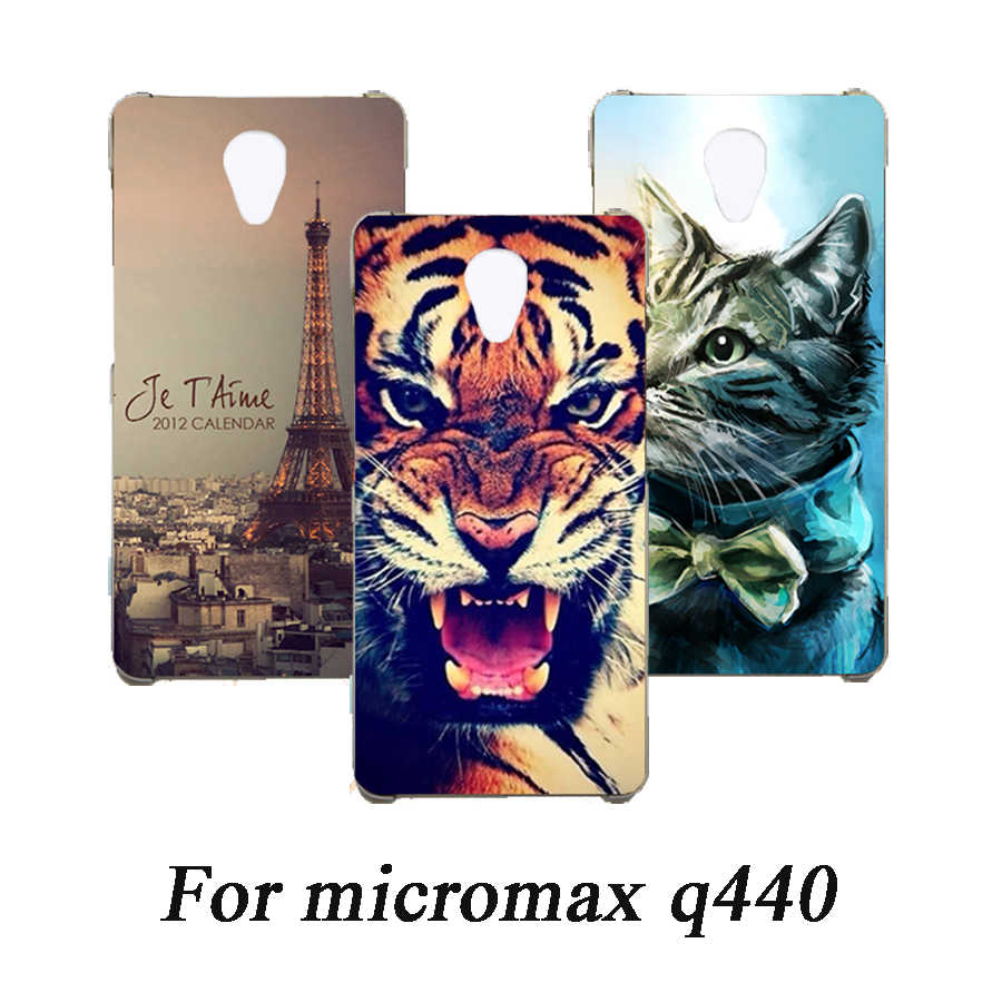 Cartoon Animal Flower TPU Case For Micromax q440 painted Phone Case For Micromax q440 Soft Silicone Back Cover Case