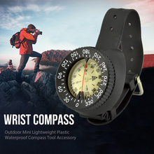 Outdoor Mini Lightweight Portable Multi-function Waterproof Compass Underwater Caving Camping Hiking Survival Equipment