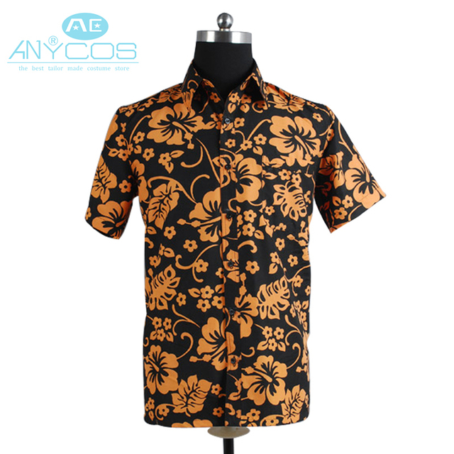 7b9155e1 Fear and Loathing in Las Vegas Raoul Duke Shirt Halloween Party Movie  Cosplay Costume