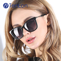 TenLon Glasses Cat Eye Polarized Sunglasses Women Brand Designer Spiral Frame Vintage Sun Glasses de sol feminino eyewear UV400