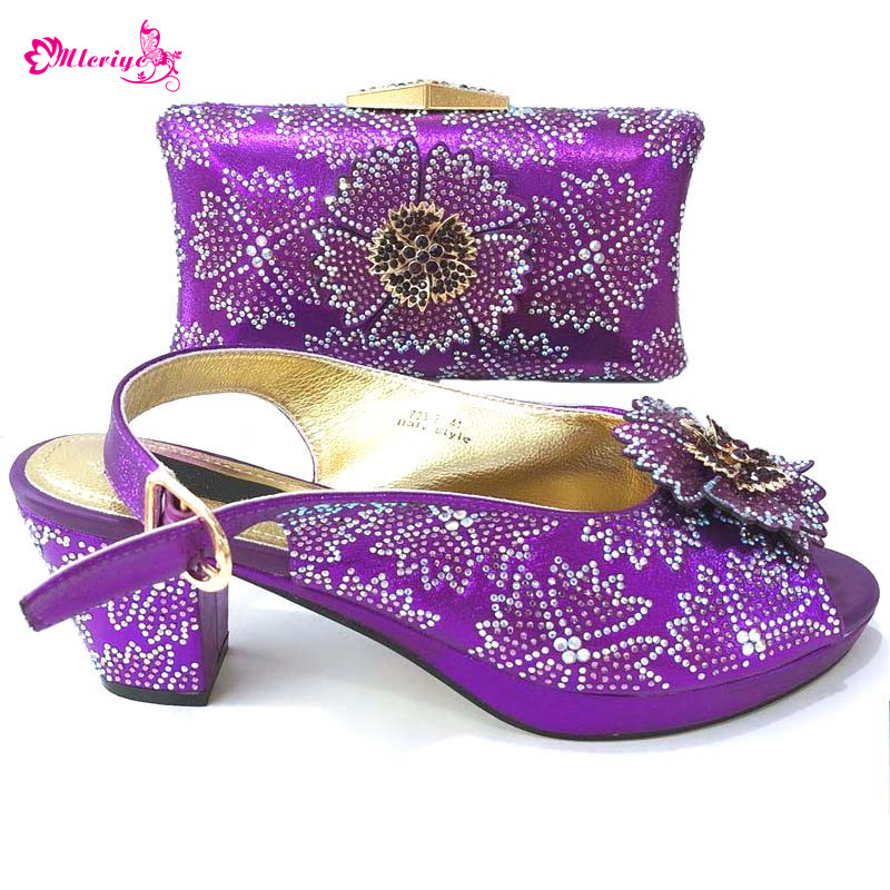 purple Latest Italian Woman Shoes And Bags To Match Shoe With Bag Set Bag And Shoes Set Italy Nigerian Shoes And Purse Set capputine latest italian woman shoes and bags to match shoes with bag set bag and shoes set italy nigerian shoes and purse set