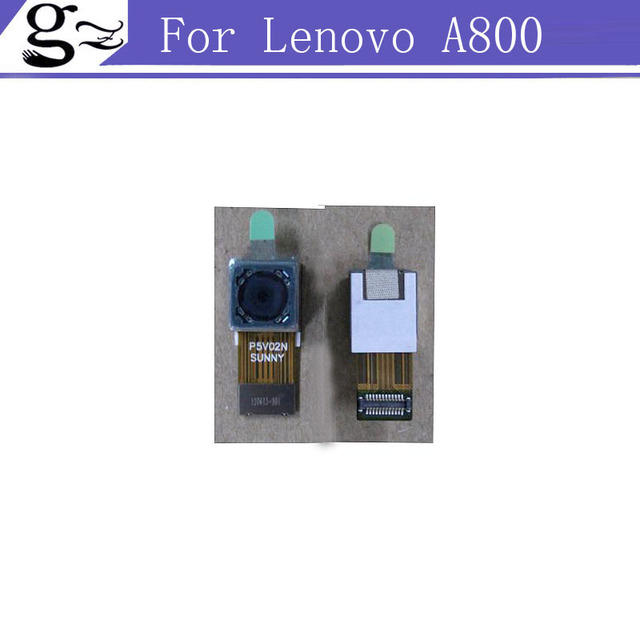 2pcs/lot 5.0MP Digital Back Camera Lens Original Replacement For Lenovo A800 Free Shipping