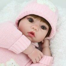 NPK 20 pulgadas de silicona renacer muñecas del bebé vivo Real realista muñecas bebe boneca renacer niña l o l Juguetes De niña regalo de cumpleaños