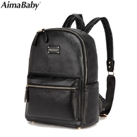 Brand PU Leather Baby Care Nappy Changing Mother Maternity Diaper Tote Bag Organizer Bags Mom Backpack mochila bolsa maternidade