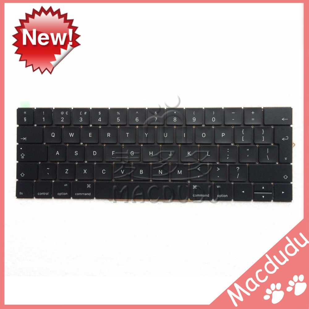 New UK Keyboard For MacBook Pro Retina 13 A1706 2016 2017 MLL42LL/A MPXV2LL/A *Verified Supplier* netcosy for macbook pro retina 13 a1706 new uk replacement keyboard laptop uk version standard keyboard for macbook a1706