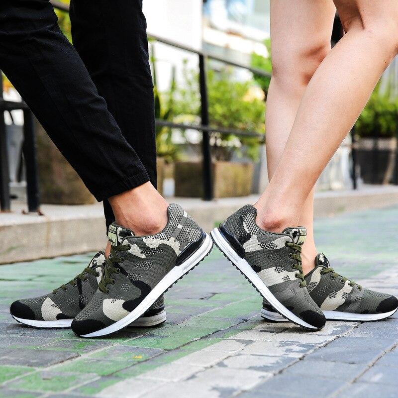 2018 весна дышащие кроссовки пару моделей спортивные парусиновые туфли камуфляж комфорт ходьбе кроссовки Basket Femme