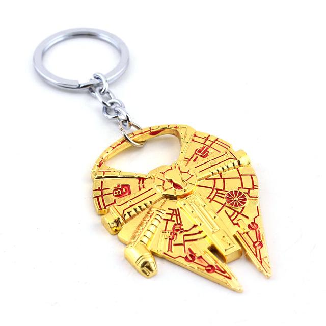 Star Wars Spaceship Opener Keychain Action Figures