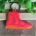 Creativo Jordan Zapatos High-top anahtarlik Creativo Llavero cadena dominante Del Coche Colgantes Amantes chaveiro Regalos Al Por Mayor