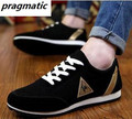 British Fashion Men Casual Shoes suede Men's Breathable Shoes flats Running Trainer Shoes black Brand classic mens shoes sales