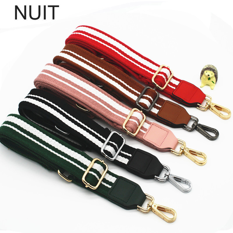 Fashion Women Colorful Wide Shoulder Strap Cotton Metal Hasp Adjustable Lady Girls Bag Belt Straps Accessories For Messenger Bag постельное белье cleo постельное белье siracusa 2 спал