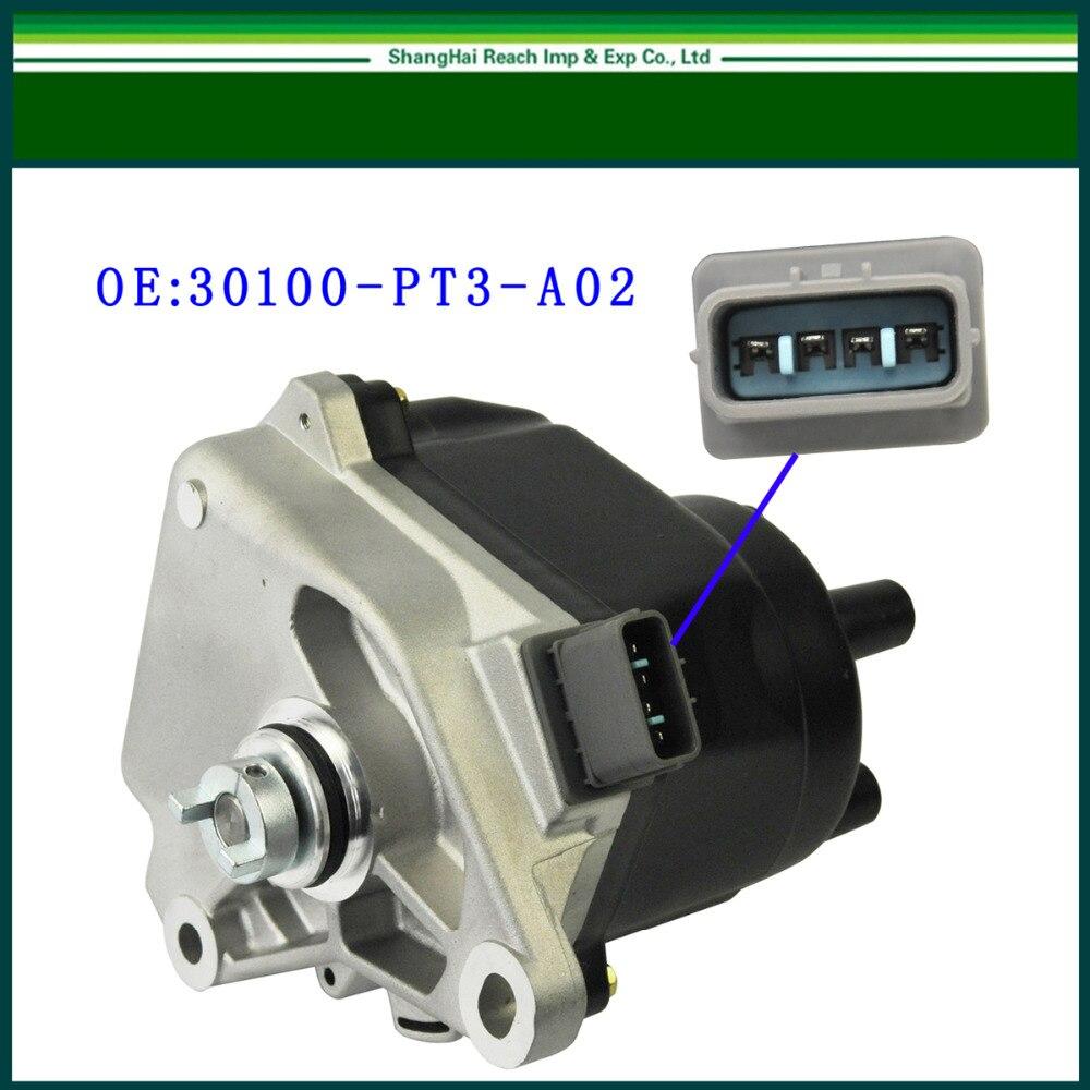 e2c Ignition Distributor for Honda Accord Hitachi JDM F23A 1998-2002 OE# 30100-PAA-A02 / HT02 / D4T96-07/ D4T97-03 Free Shipping