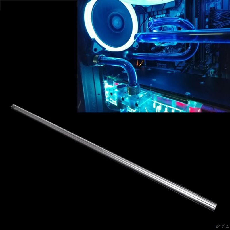 2Pcs 10x14mm 50cm PETG Water Cooling Rigid Hard Tube for PC Water Cooling System