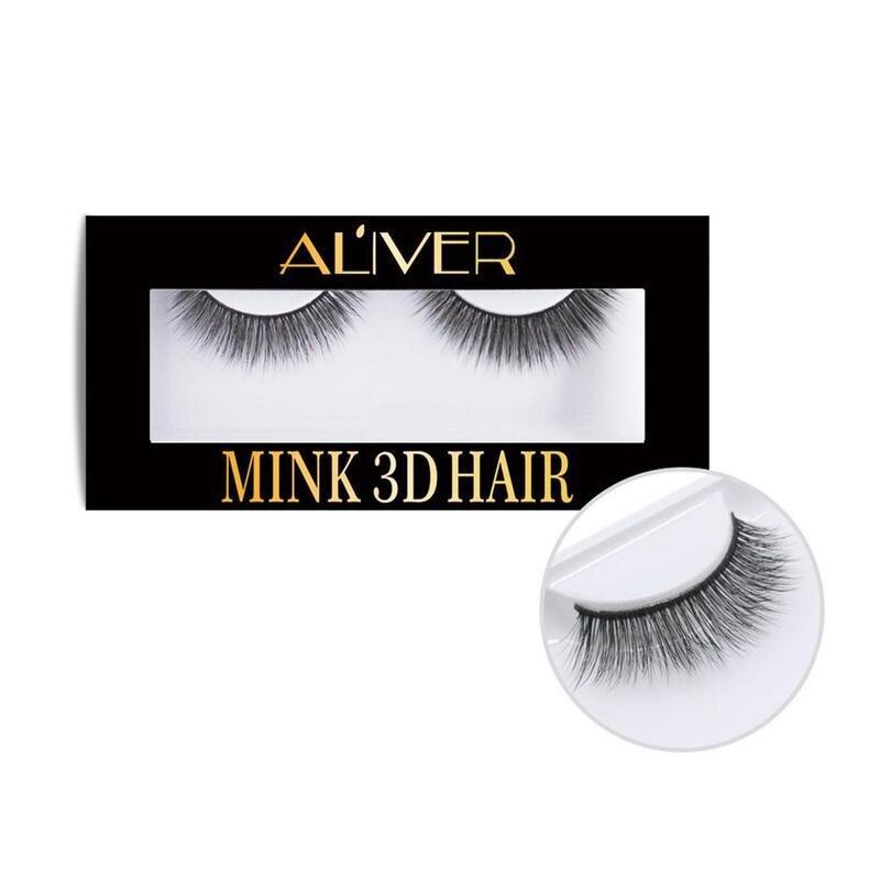 1pair 3D Mink Fake Lashes Beauty Individual Eye Lash Extension Mink Hair False Eyelashes Natural Long Thick Maquiagem Makeup