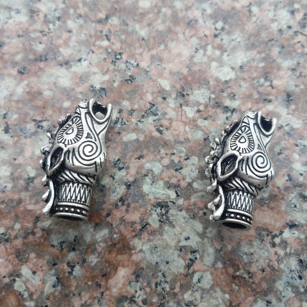 2 шт Бусины викинга для женщин, дракон-Викинг, бисер для ожерелья, сделай сам, ювелирные изделия, бусы для Мужчин, Ювелирные изделия Cetilcs